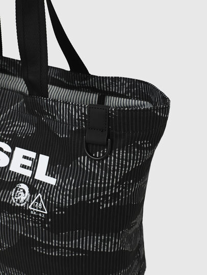 Diesel - D-THISBAG SHOP M, Nero - Shopper e Borse a Spalla - Image 5