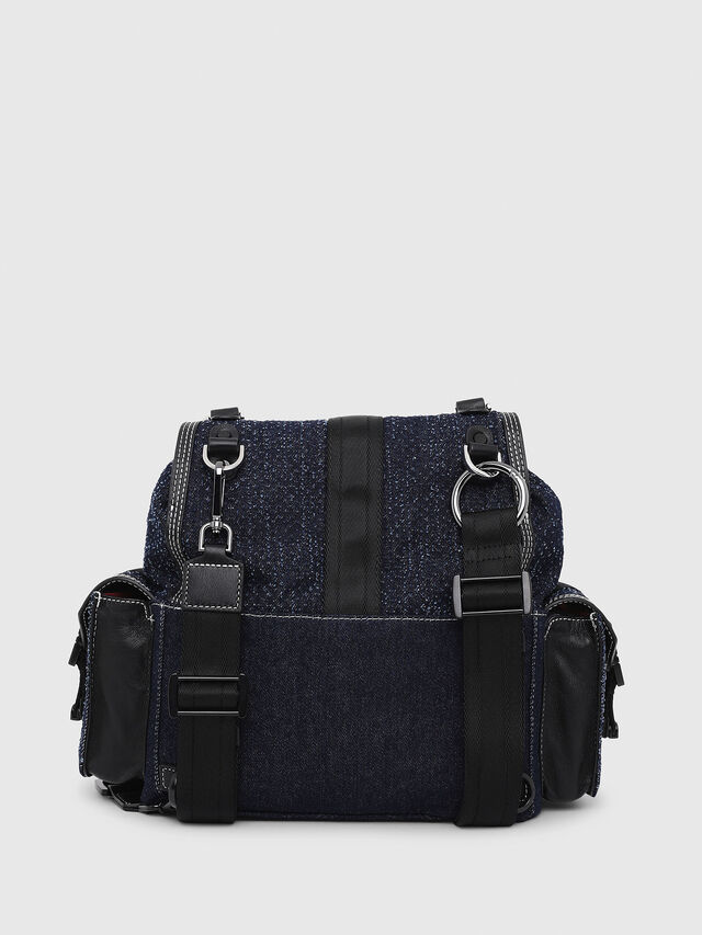 Diesel - MISS-MATCH BACKPACK, Blu Jeans - Zaini - Image 2