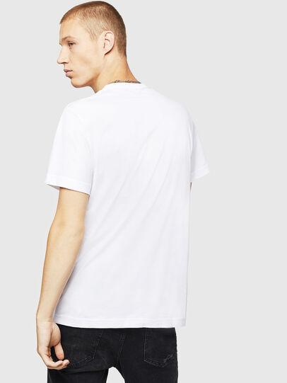 Diesel - T-DIEGO-B16, Bianco - T-Shirts - Image 2