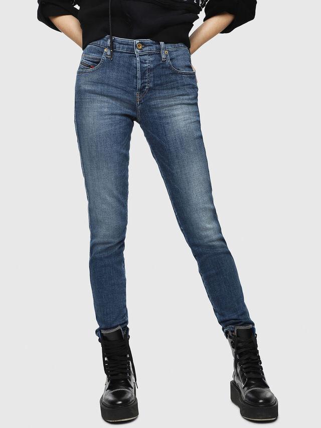Diesel - Babhila 082AB, Blu Scuro - Jeans - Image 1