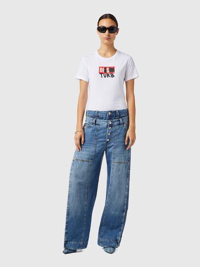Diesel - D-Laly 0AFAM, Blu medio - Jeans - Image 5