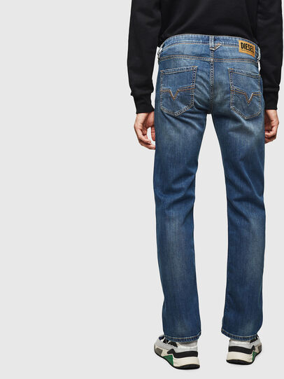 Diesel - Larkee 083AA, Blu medio - Jeans - Image 2