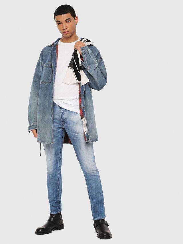 Diesel - Thommer 081AS, Blu medio - Jeans - Image 5