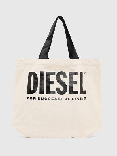 Diesel - LYVENZA, Bianco/Nero - Shopper e Borse a Spalla - Image 1