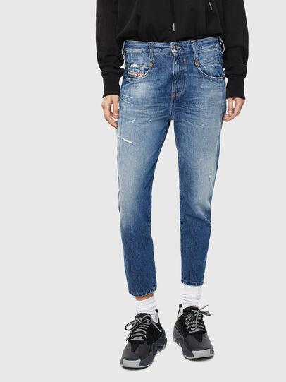 Diesel - Fayza 0097B, Blu medio - Jeans - Image 1