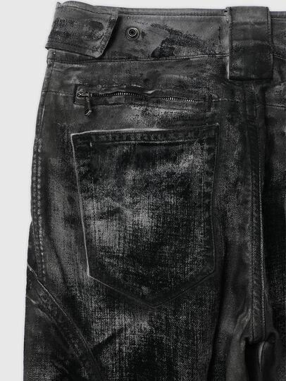Diesel - TYPE-1007-NE, Nero/Grigio scuro - Jeans - Image 5