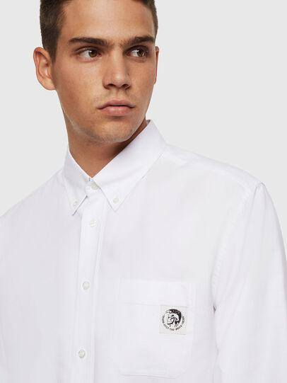 Diesel - S-JAMES, Bianco - Camicie - Image 3