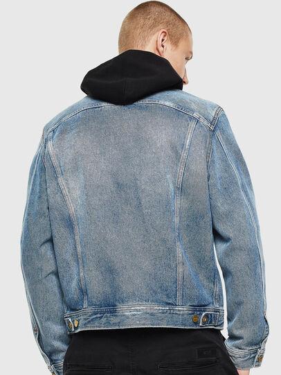 Diesel - D-BRAY, Blu Jeans - Giacche in denim - Image 2