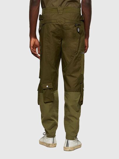 Diesel - P-CYAN, Verde Militare - Pantaloni - Image 2