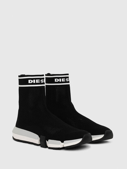 Diesel - H-PADOLA NET W, Nero - Sneakers - Image 2