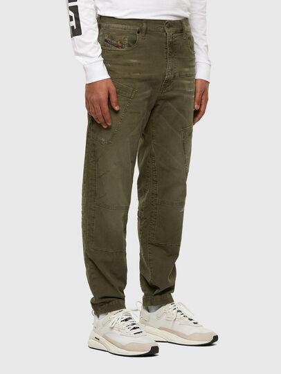 Diesel - D-Azzer JoggJeans® 069NF, Verde Militare - Jeans - Image 5