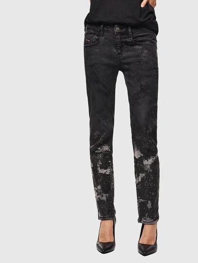 Diesel - D-Ollies JoggJeans 084AZ, Nero/Grigio scuro - Jeans - Image 1