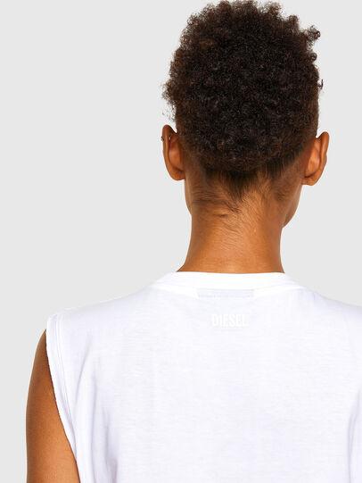 Diesel - T-PUNKYER-R1, Bianco - T-Shirts - Image 4