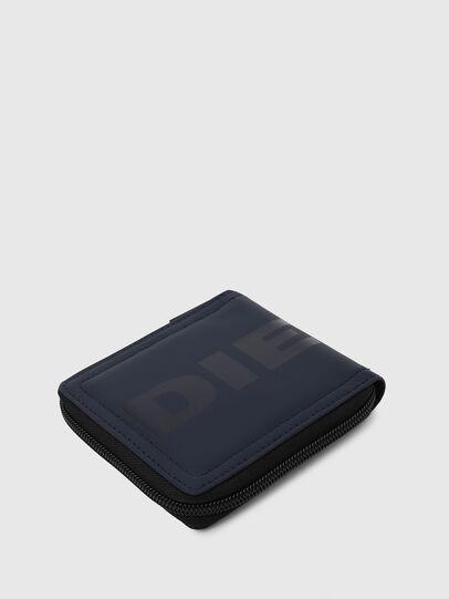 Diesel - ZIPPY HIRESH S, Blu Scuro - Portafogli Con Zip - Image 5