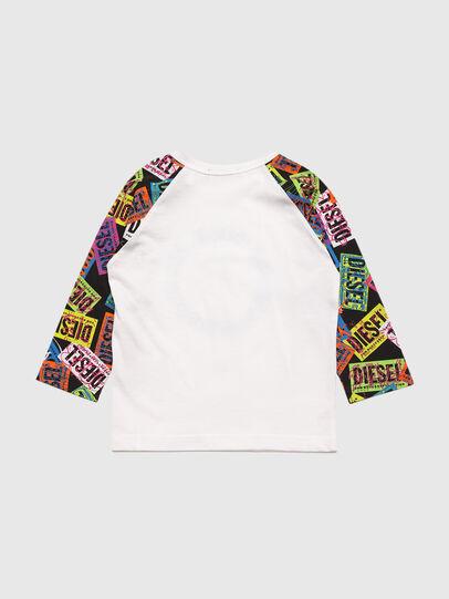 Diesel - TENTYB, Bianco - T-shirts e Tops - Image 2