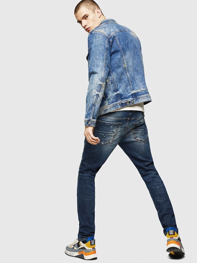 Diesel - Thommer 083AC, Blu Scuro - Jeans - Image 6