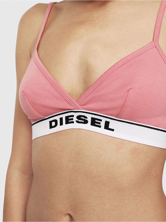Diesel - UFSB-LIZZY, Rosa/Bianco - Reggiseni - Image 3