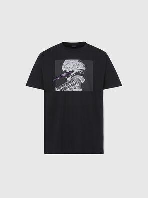 T-TUBOLAR-X20, Nero - T-Shirts