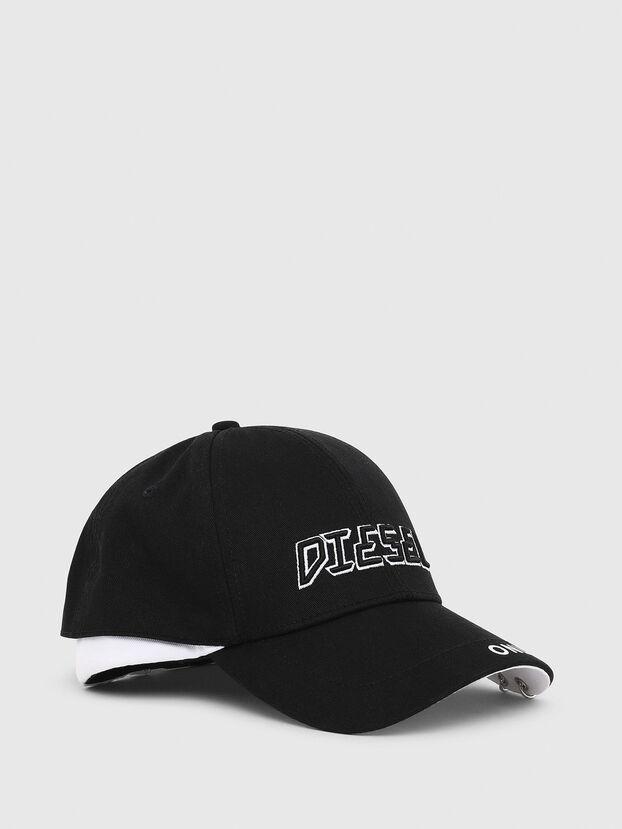 CEDOUBLE, Nero/Bianco - Cappelli