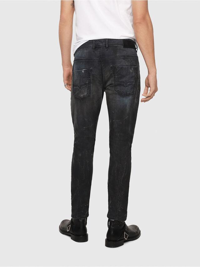 Diesel - Krooley JoggJeans 069IA, Nero Jeans - Jeans - Image 2