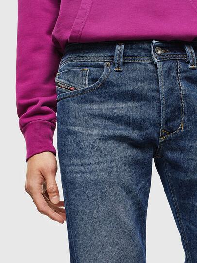 Diesel - Larkee 0096E, Blu medio - Jeans - Image 3