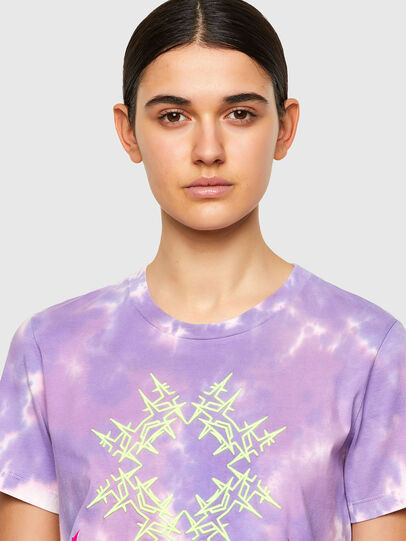 Diesel - T-SILY-A12, Lilla - T-Shirts - Image 4