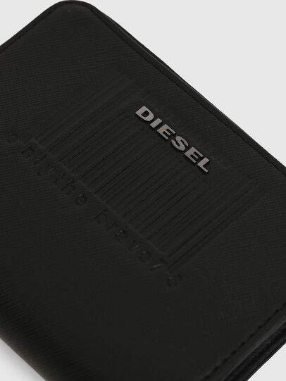 Diesel - L-12 ZIP, Nero - Portafogli Con Zip - Image 6