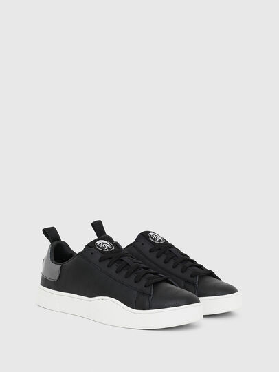 Diesel - S-CLEVER LOW LACE, Nero/Argento - Sneakers - Image 2