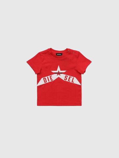 Diesel - TDIEGOA7B, Rosso - T-shirts e Tops - Image 1