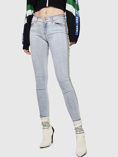 Diesel - Slandy 0090E, Blu Chiaro - Jeans - Image 1