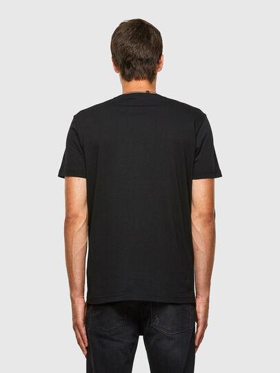 Diesel - T-DIEGOS-N20, Nero - T-Shirts - Image 2