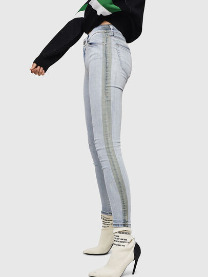 Diesel - Slandy 0090E, Blu Chiaro - Jeans - Image 5