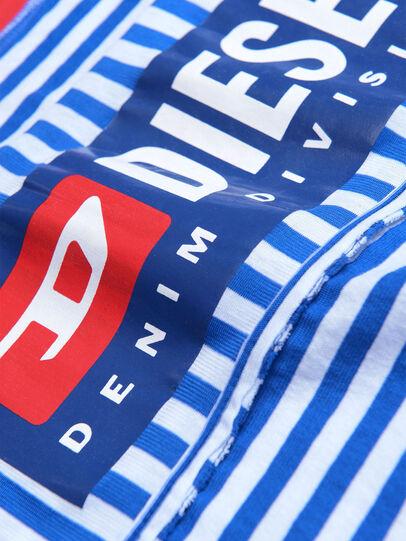 Diesel - TJVANE, Blu/Bianco - T-shirts e Tops - Image 3