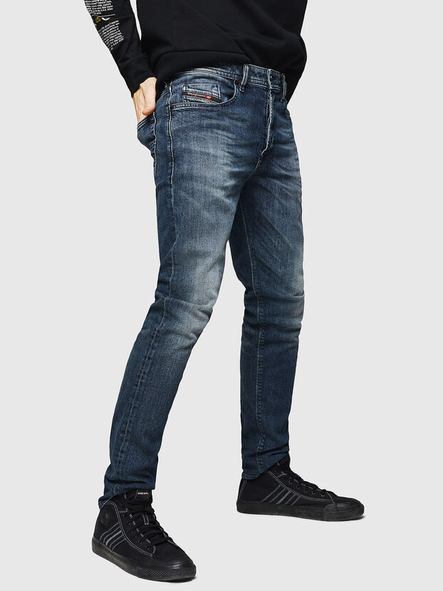 Buster 084AS, Blu Scuro - Jeans