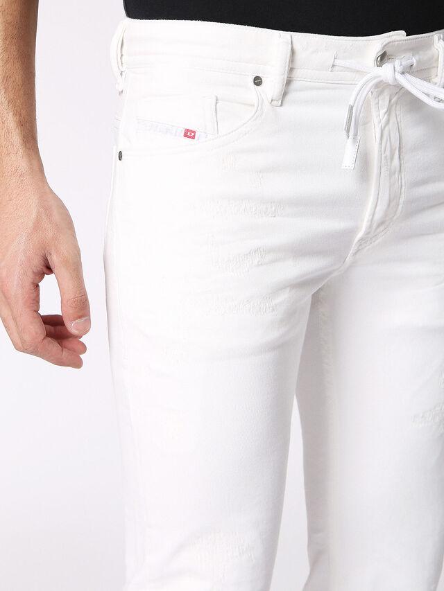 THOMMER CB JOGGJEANS 0689X, Bianco Jeans