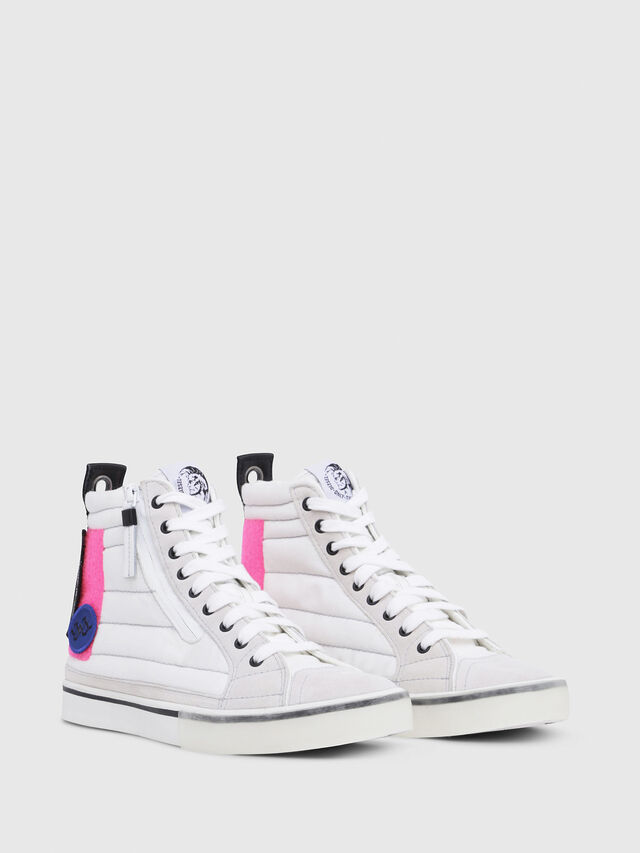 Diesel - D-VELOWS MID PATCH W, Bianco - Sneakers - Image 2