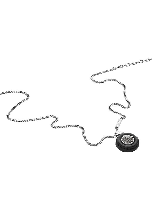 Diesel - NECKLACE DX1022, Argento - Collane - Image 2