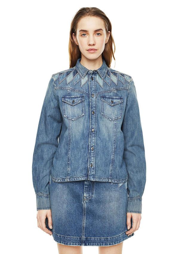 Diesel - CALLYVAN, Blu Jeans - Camicie - Image 1