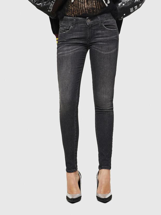 Slandy Low 083AI, Nero/Grigio scuro - Jeans