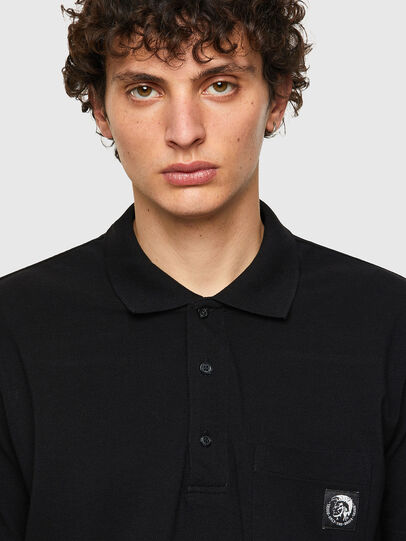 Diesel - T-POLO-WORKY, Nero - Polo - Image 3