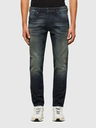 Diesel - D-Bazer 009EP, Blu Scuro - Jeans - Image 1