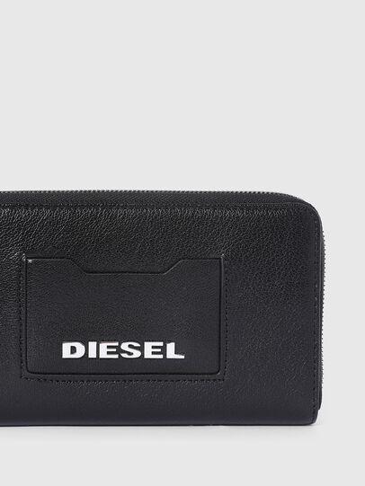Diesel - GRANATO LC, Nero - Portafogli Con Zip - Image 4