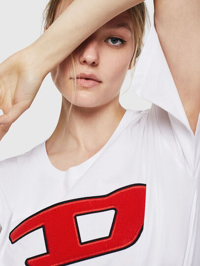 Diesel - T-JACKY-I, Panna - T-Shirts - Image 3
