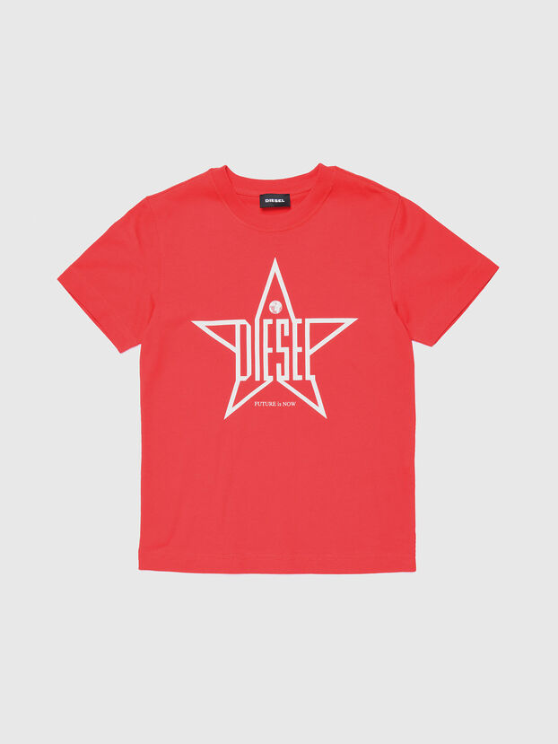 TDIEGOYH, Rosso - T-shirts e Tops