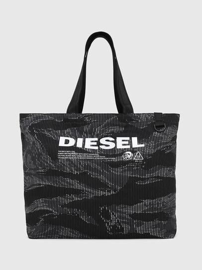 Diesel - D-THISBAG SHOP M, Nero - Shopper e Borse a Spalla - Image 1