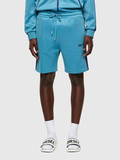 Diesel - P-KURLY, Blu Chiaro - Shorts - Image 1