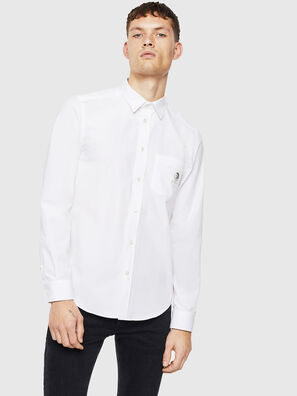 S-BILL-POCKET, Bianco - Camicie