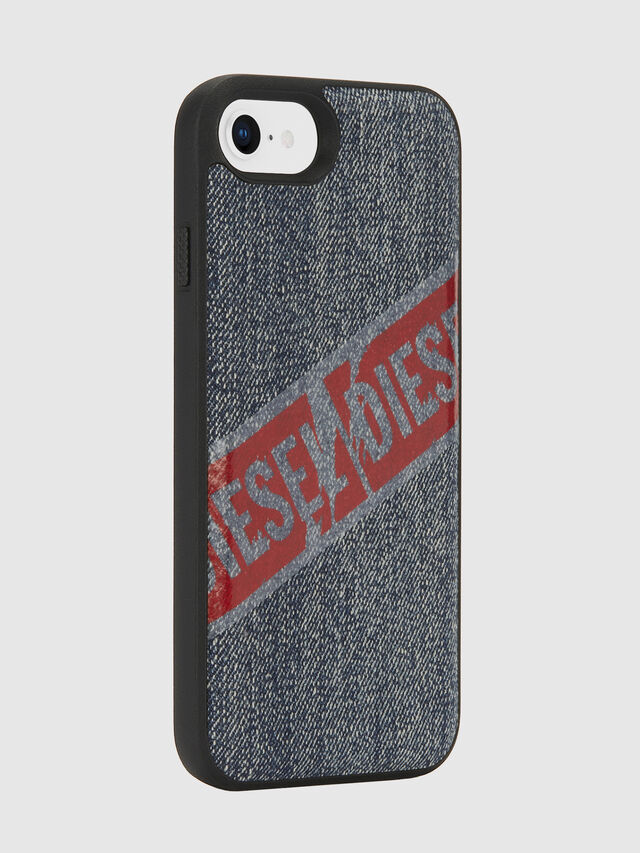 Diesel - VINTAGE DENIM IPHONE 8/7/6S/6 CASE, Blu Jeans - Cover - Image 6