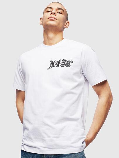 Diesel - T-JUST-T31, Bianco - T-Shirts - Image 1