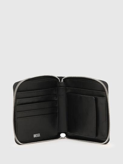 Diesel - PI-ZIP II, Rosa/Nero - Portafogli Con Zip - Image 3